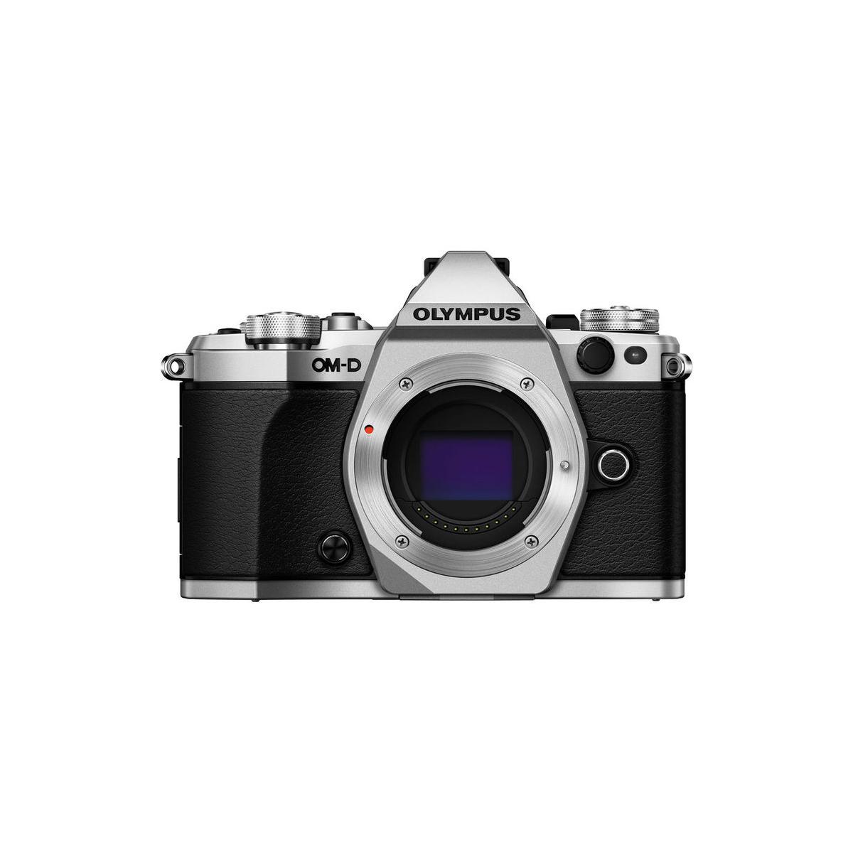 Olympus OM-D E-M5 Mark II Mirrorless Digital Camera (Body Only, Silver)