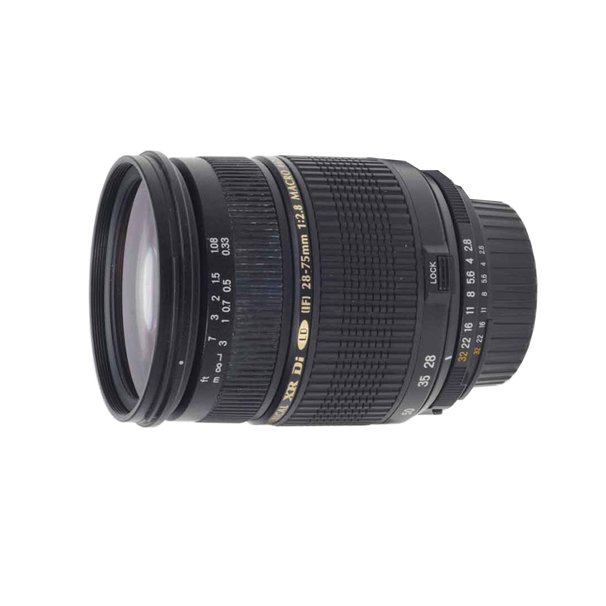 Tamron 28 75mm F If Macro Af Ld Xr Di Sp The Camera Exchange For Canon 17 50mm Ii Aspherical