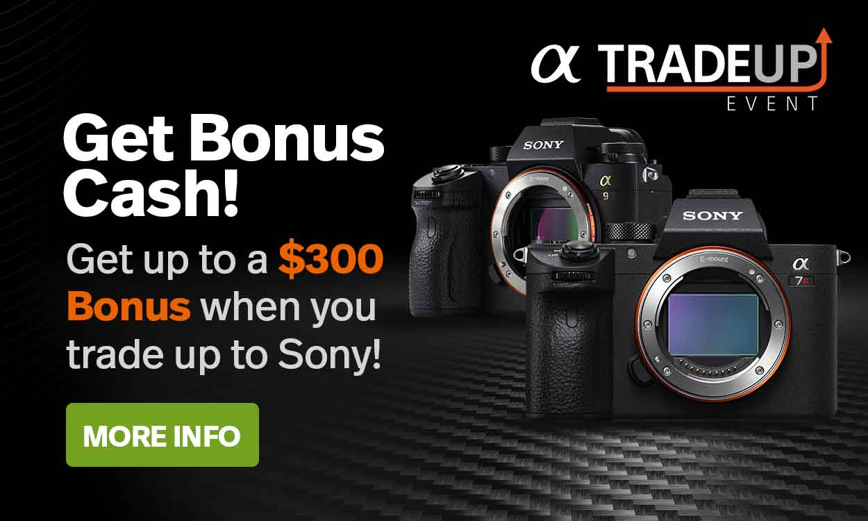 Sony Camera Trade-In Event