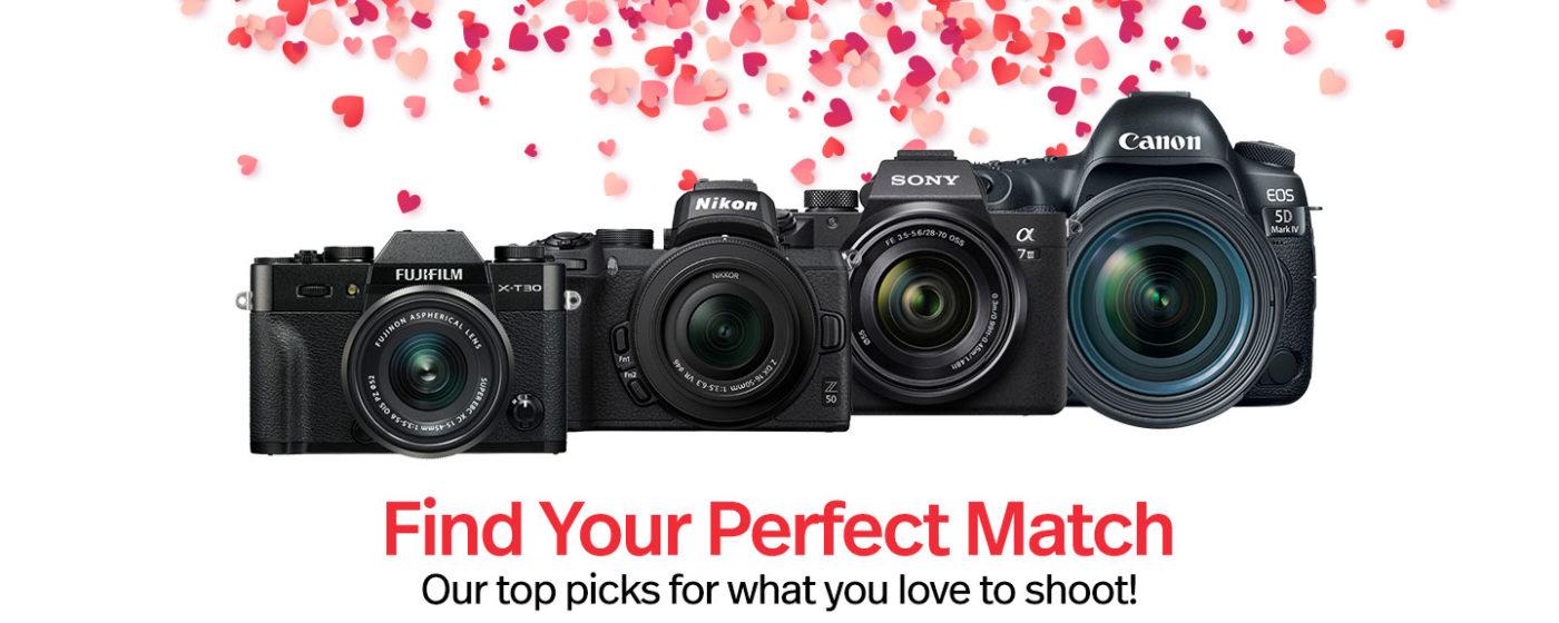, Find Your True Match – Cameras