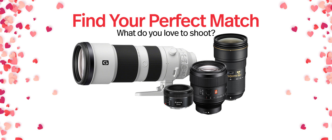 , Find Your True Match – Lenses